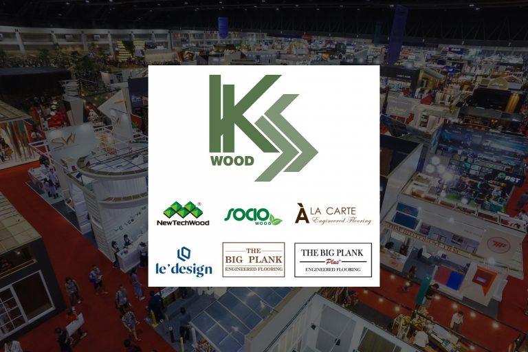 เค.เอส.วู้ด ชูนวัตกรรมไม้พื้นเอ็นจิเนียร์ ที่ดีไซน์โดดเด่นไม่เหมือนใครมาไว้ในงานสถาปนิก'65