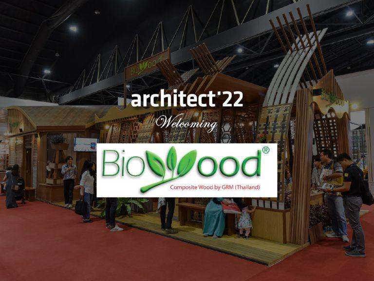 ไบโอวู้ด ยืนยันเข้าร่วมงานสถาปนิก'65 อย่างเป็นทางการ พร้อมชูนวัตกรรมไม้เทียมหลากรุ่น