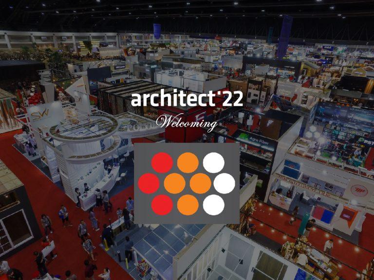 งานสถาปนิก'65 ขอต้อนรับบริษัท ผลิตภัณฑ์ตะแกรงเหล็กแผ่นไทย จำกัดที่เข้าร่วมงานอย่างเป็นทางการ