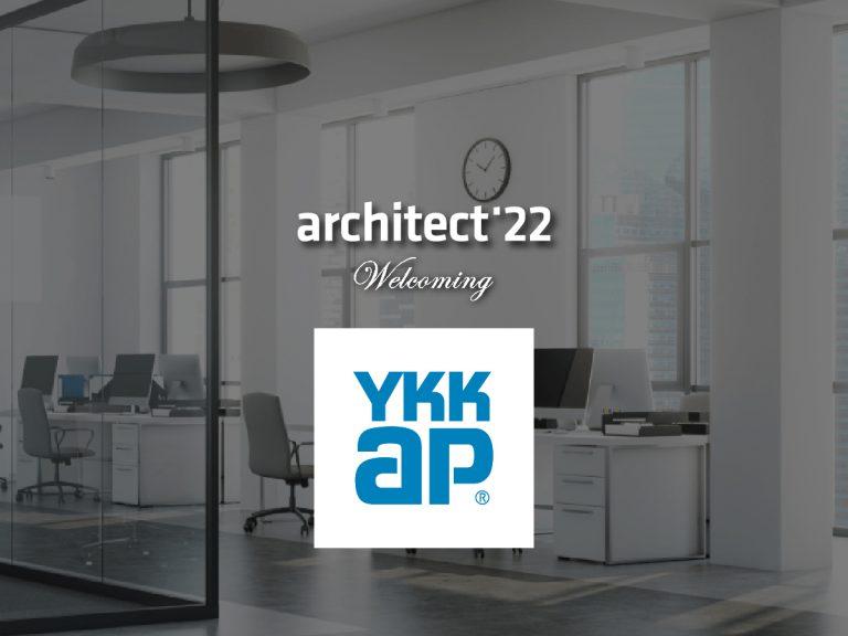 งานสถาปนิก'65 ขอต้อนรับ บริษัท วายเคเค เอพี (ประเทศไทย) จำกัดทีเข้าร่วมงานอย่างเป็นทางการ