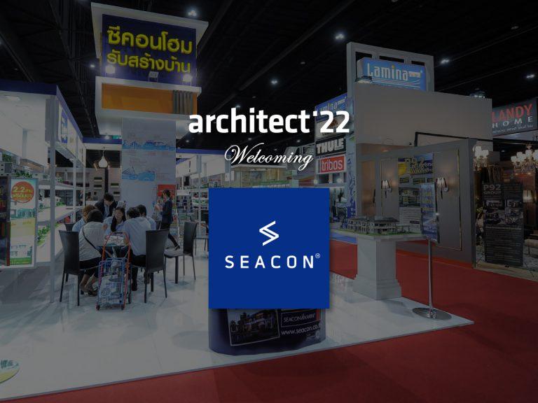 งานสถาปนิก'65 ขอต้อนรับ บริษัท ซีคอน จำกัด ที่เข้าร่วมงานอย่างเป็นทางการ
